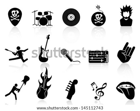 rock and roll music icons