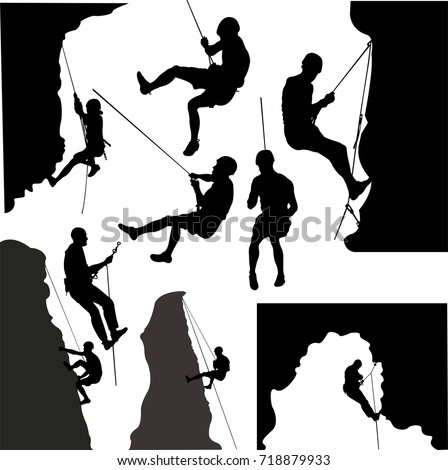 rock climbers collection