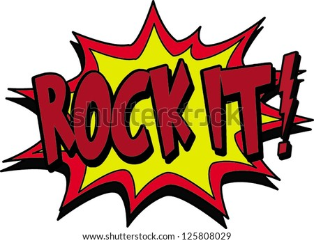 rock it stock vector illustration 125808029 shutterstock rock star clip art gif rock star clip art gif