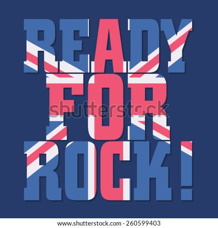 rock music british flag