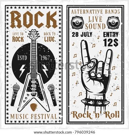 rock music festival two