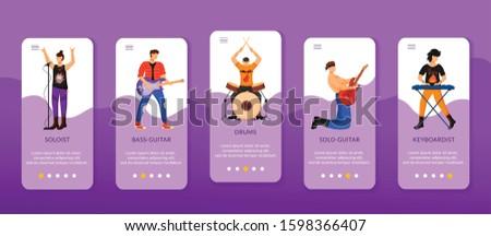 rock musicians onboarding