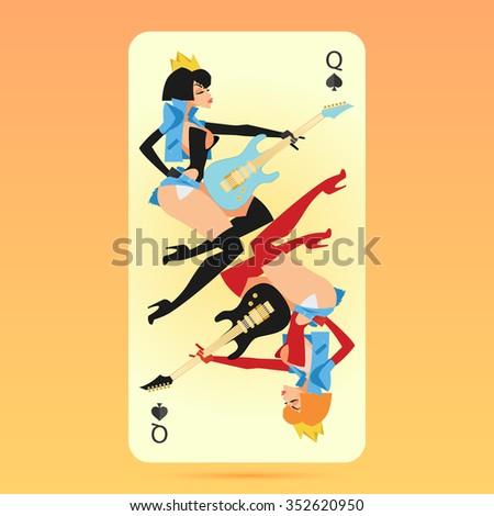 rock'n roll queen of spades