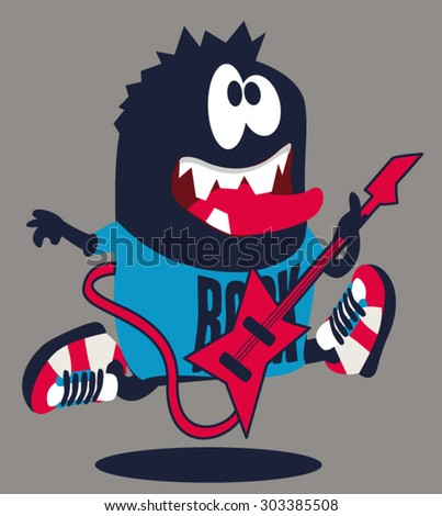 rock  rocker  monster
