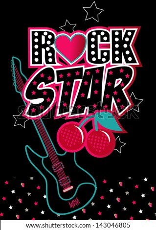 rock star illustrator swatch