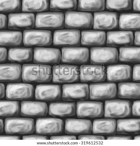 rock wall  gray scale  seamless