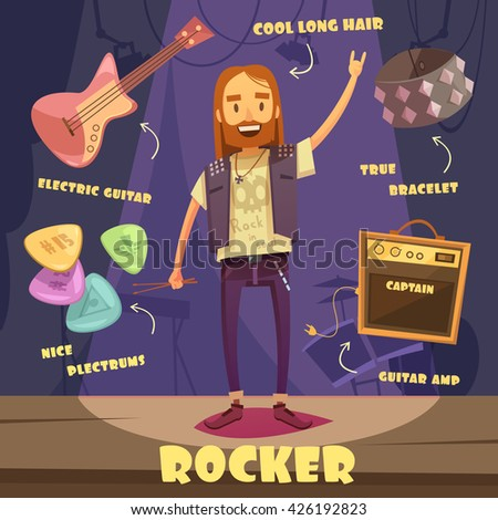 rocker character pack with