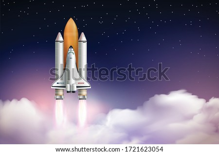 rocket launch composition with