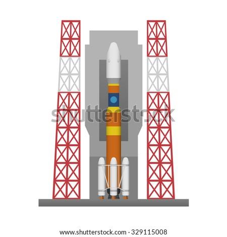rocket launch pad