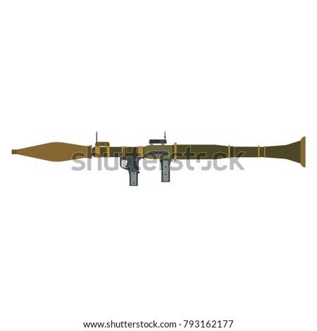 rocket launcher vector