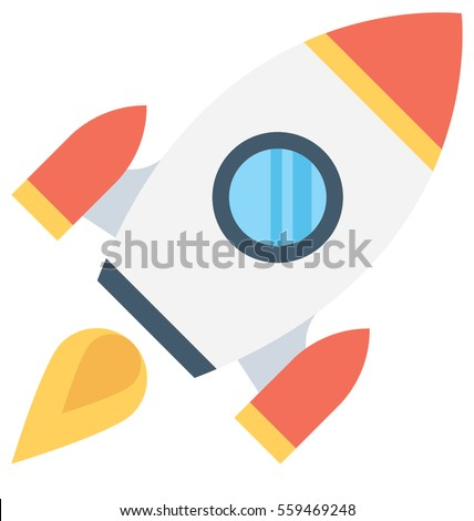 Rocket Vector Icon