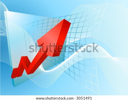 Rocketing profits. A conceptual background based on a graph soaring profits