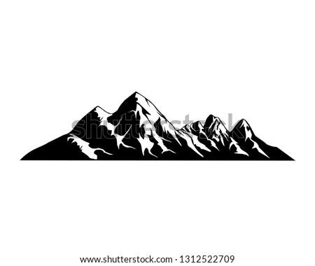 rocky mountains vector