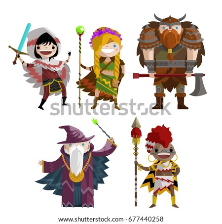 rogue warrior  elf ranger girl