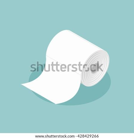 roll of toilet paper isometrics