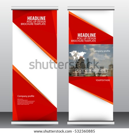 roll up business brochure flyer banner design vertical template vector, cover presentation ,infographics,abstract geometric background, modern publication x-banner and flag-banner
