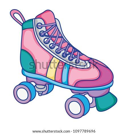 roller skate style fun sport