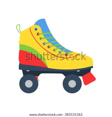 roller skates illlustration
