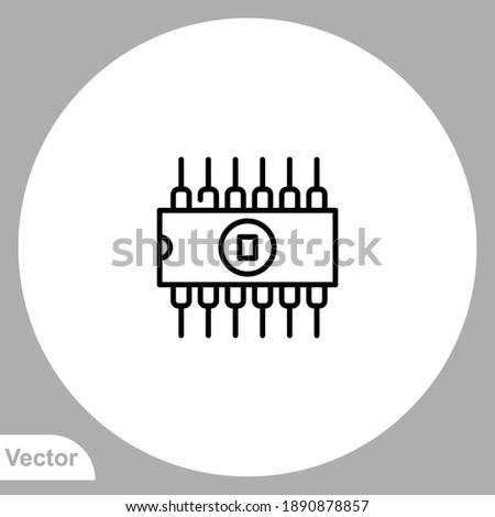 Rom icon sign vector,Symbol, logo illustration for web and mobile Foto stock ©