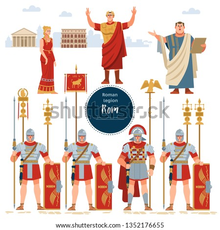 roman empire elements of the