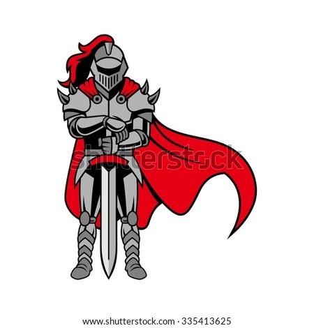 roman knight  gladiator with
