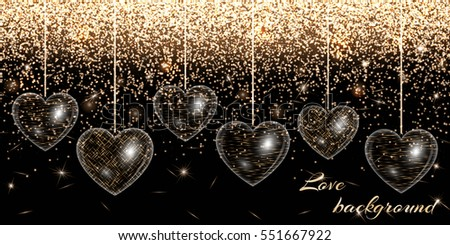 romance background with holiday