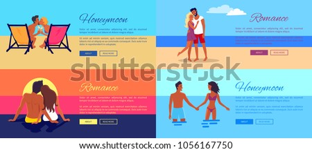 romance honeymoon photos of