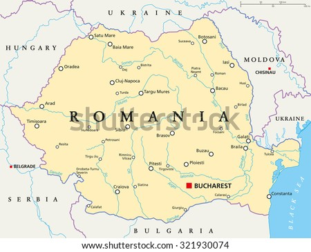 Free Romania Map Vector Download Free Vector Art Stock Graphics - Georgia map vector free download