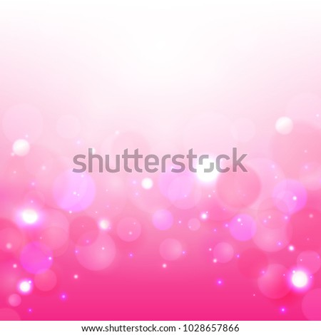 Romantic background. Abstract shining background Vector illustration.