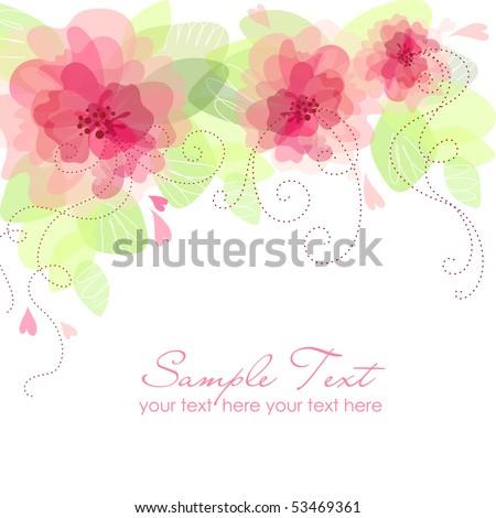 flower background images. Romantic Flower Background