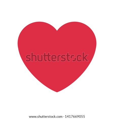 Romantic Heart Icon for Marriage Celebration