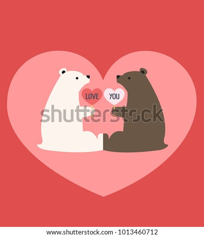 romantic icon of a pair of