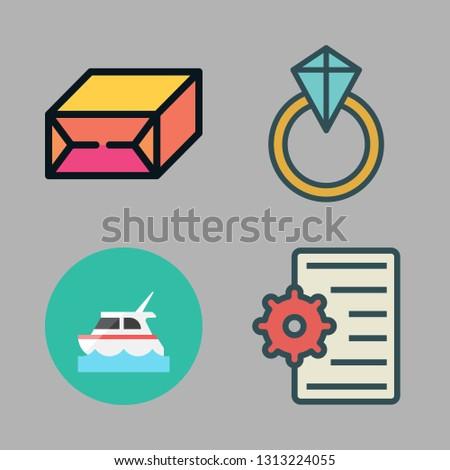 romantic icons set. vector set about [ iconsRandom] icons set.