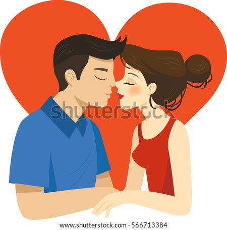 romantic illustration of
