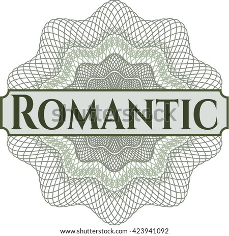 Romantic money style rosette