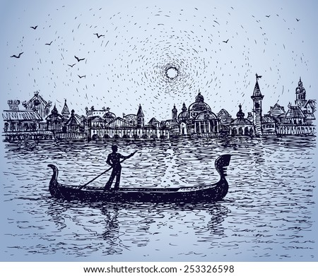 romantic person floats on