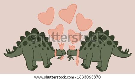 romantic vector illustration of