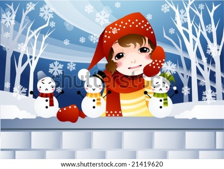 romantic winter story on merry