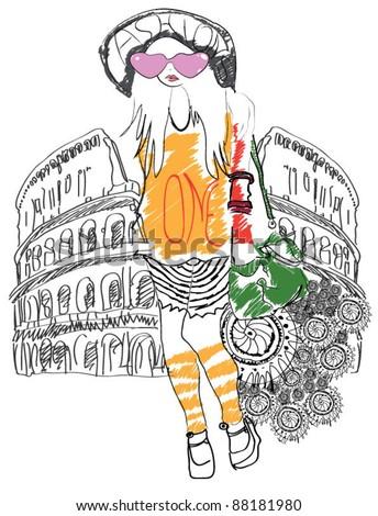rome girl