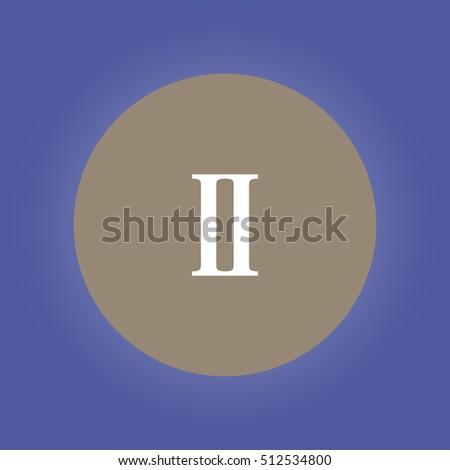 rome two icon flat design