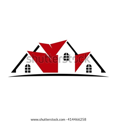 Home Logo vector images illustrations and cliparts roof and home logo vector