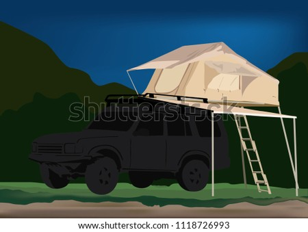 Roof Tent Camping