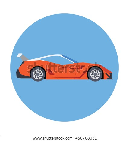 roofless car vector icon