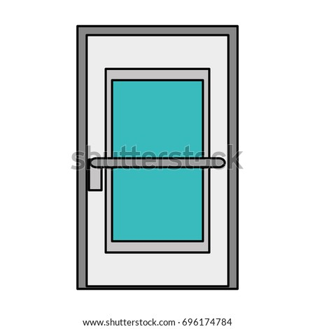 room door isolated icon #696174784