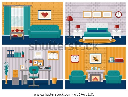rooms interiors living room