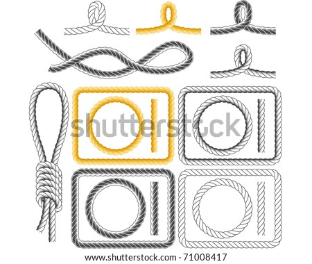 rope frames  four styles