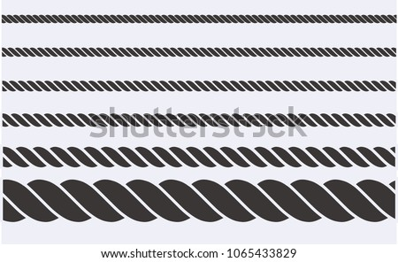 rope vector illustration