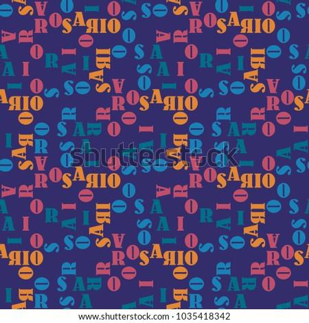 rosario seamless pattern