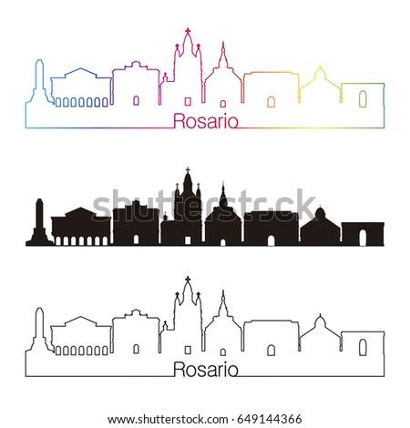 rosario skyline linear style