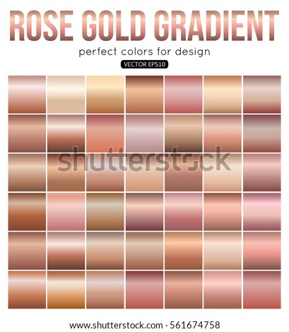 rose gold gradient perfect